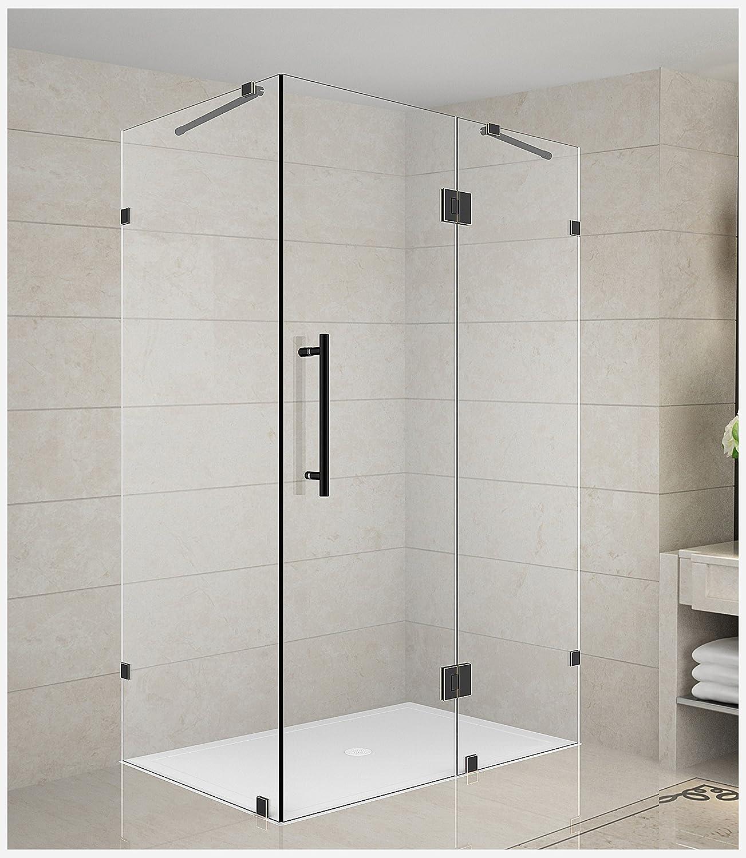 Aston Avalux - Mampara de ducha sin marco Avalux: Amazon.es ...
