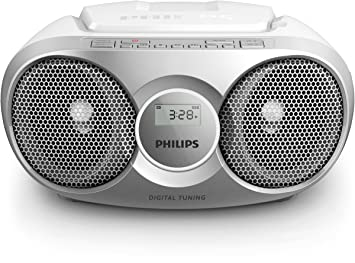 Philips AZ215S/12 - Reproductor de CD (Radio, 3 Watt), Gris: Amazon.es: Electrónica