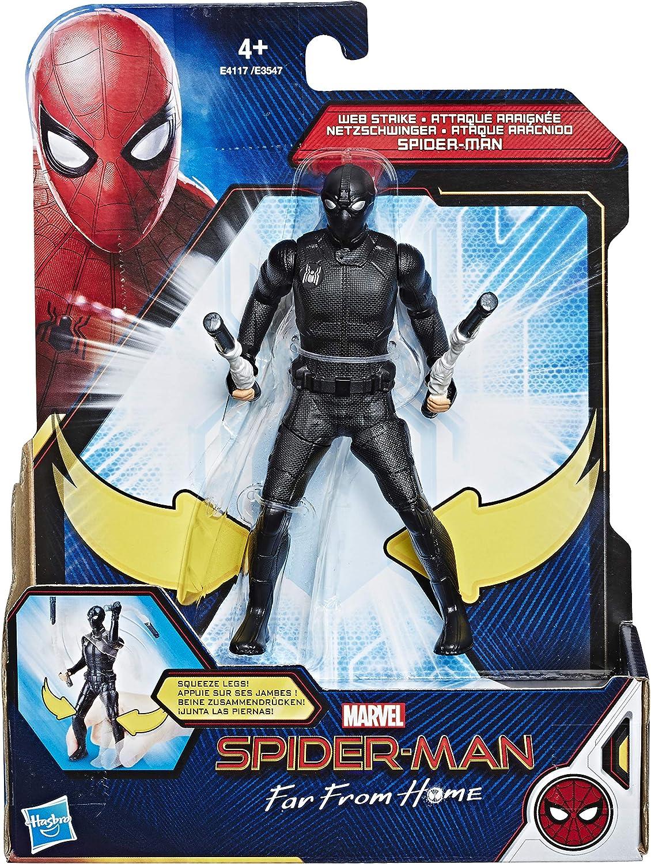 Hasbro Marvel Spider-Man Movie 6 inch Figures AST, Multicolor ...