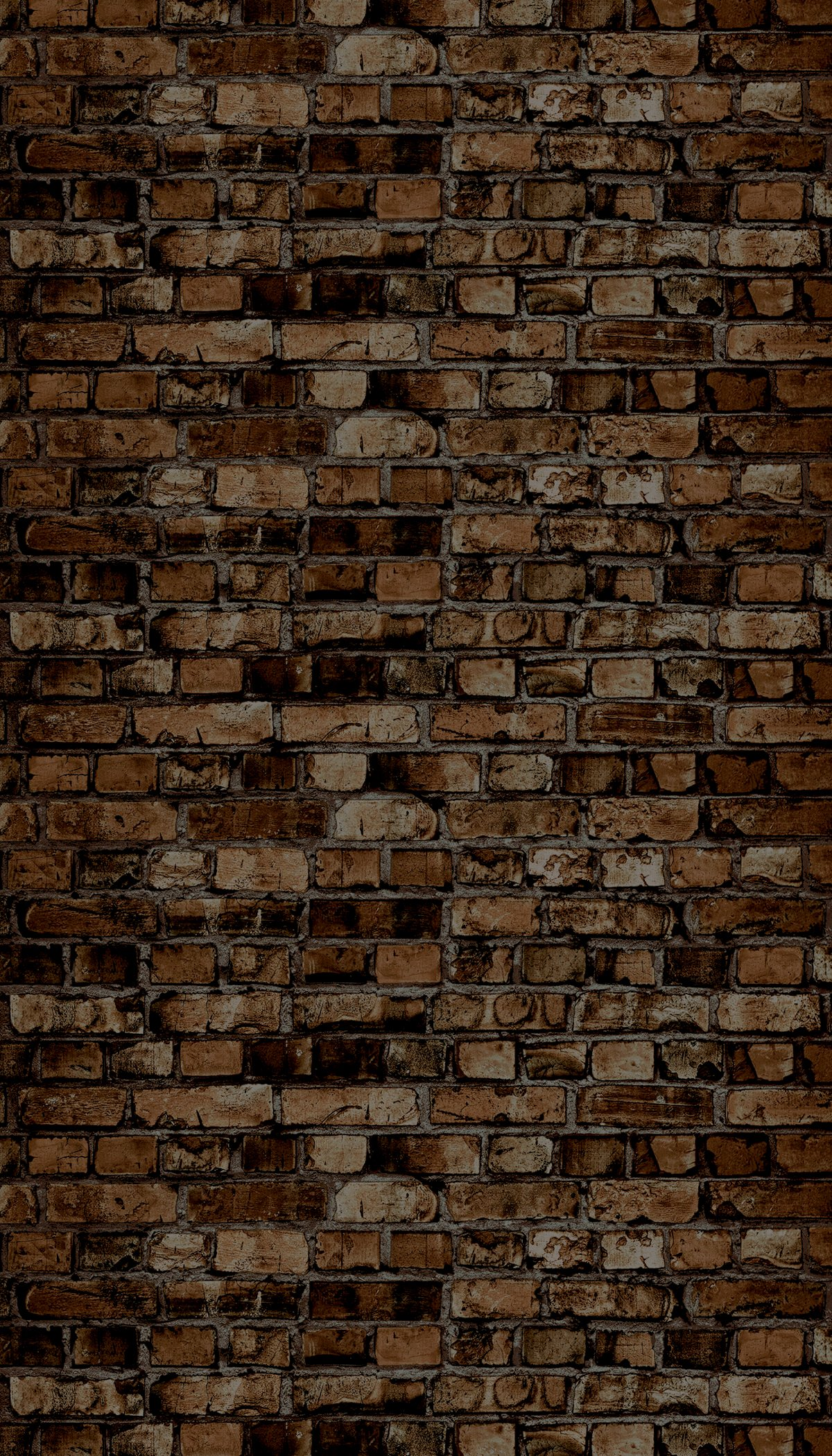 Ella Bella Photography Backdrop Paper, Aged Brown Brick, 48'' x 12', 1 Roll by Pacon