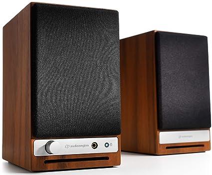 Audioengine Altavoces de Escritorio inal?mbricos Audioengine HD3 60W Amplificador Anal?gico y DAC Incorporado de 24 bits USB aptX HD Bluetooth, USB, ...