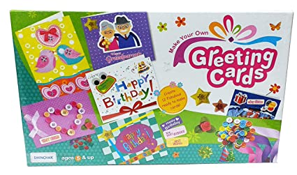 Artbox 12 Greeting Cards Making Kit Game For Kids
