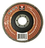 """10 Pack 4-1/2"""" Auto Body Sanding Flap Discs 80 Grit"""