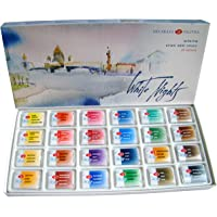 24 WHITE NIGHTS PROFESSIONAL Watercolours Paint Set Russian Nevskaya Palitra by White Nights