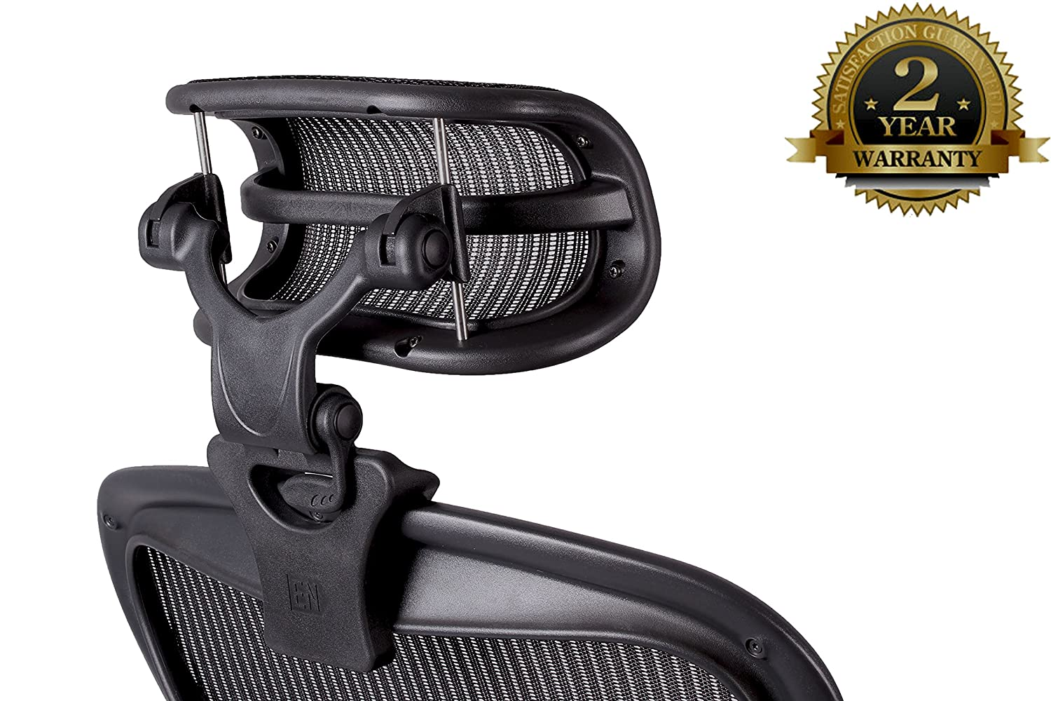 Engineered Now – The Original Headrest for The Herman Miller Aeron Chair – H3 Carbon Colors Match Classic Aeron Chair 2016 and Earlier Models