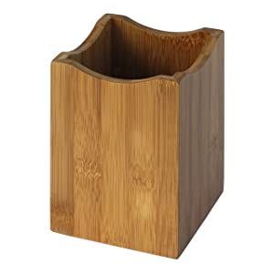 Oceanstar Bamboo Utensil Holder