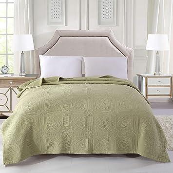 alicemall couverture couvre lit dessus de lit matelass 200x230 courtepointe boutis jet de lit 2 - Couverture Lit