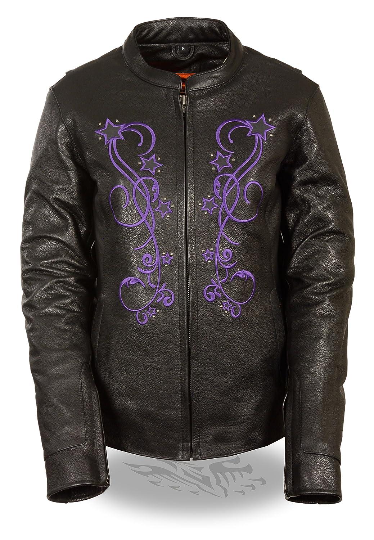 Milwaukee Womens Jacket with Reflective Stars Black//Pink, XXX-Large MLL2500-BKPNK-3X