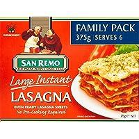 San Remo San Remo Large Instant Lasagna, 375 g