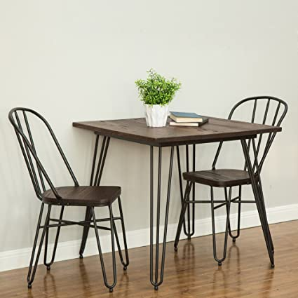 Amazon.com: Glitzhome Modern Dining Chairs Farmhouse Dining ...