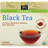 365 Everyday Value, Organic Black Tea (70 Tea Bags), 4.9 oz
