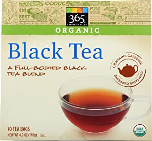 365 Everyday Value, Organic Black Tea (70 Tea Bags), 4.9 oz