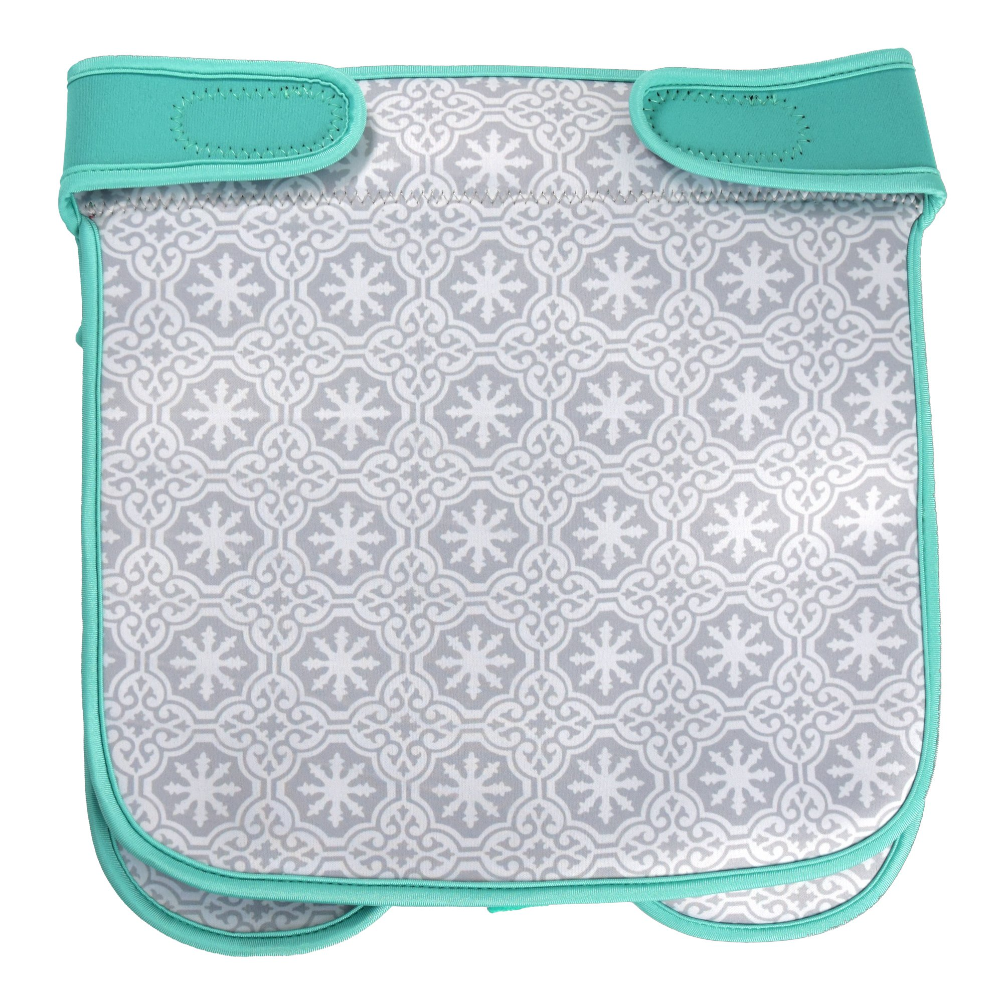 Baby Stroller Caddy Storage Organizer - Cup, Bottle and Diaper Holder for Stroller Accessories Bag - Universal Umbrella Stroller Organizer with Cup Holders - Perfect Baby Shower Gift (Turquoise) by Sunshine Nooks (Image #9)