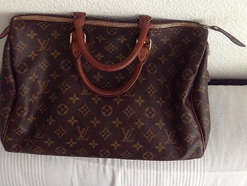 951823ff7 Louis Vuitton Louis Vuitton Speedy - Bolso de asas para mujer marrón marrón,  marrón (marrón) - M41524 - M41526 oder M41522: Amazon.es: Equipaje