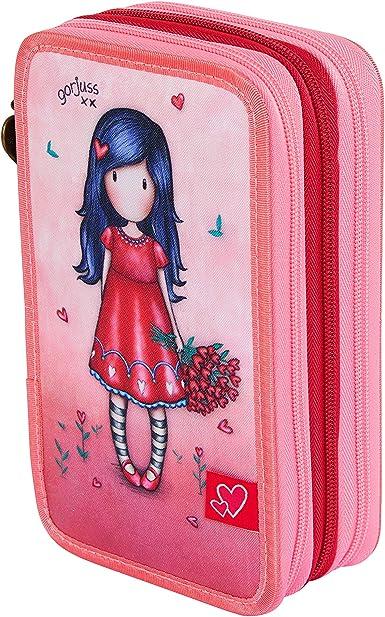 Santoro M057A, Estuche Escolar Unisex niños, Rosa, 205x125x65 mm: Amazon.es: Ropa y accesorios