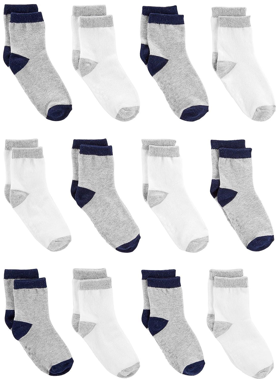 Simple Joys by Carter's Baby Boys' 12-Pack Sock Crew 12PKSOCKCREW