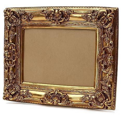 Top Starline Großer Barock Bilderrahmen 75x85 / 50x60 cm Gold (Antik IZ02