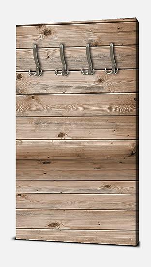 Wandmotiv24 Garderobe Zimmer Aus Holzbohlen Wandgarderobe M1055