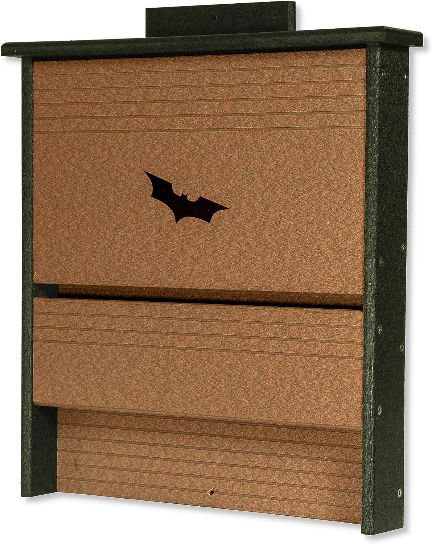 DutchCrafters 20 Colony Bat Poly House Box (Turf Green & Cedar)