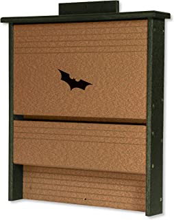product image for DutchCrafters Amish Poly 20 Colony Bat House (Turf Green & Cedar)