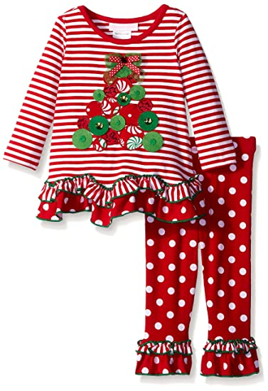 Amazon.com: Bonnie Baby Baby-Girls Christmas Tree Appliqued Knit Legging  Set, Red, 24 Months: Clothing - Amazon.com: Bonnie Baby Baby-Girls Christmas Tree Appliqued Knit