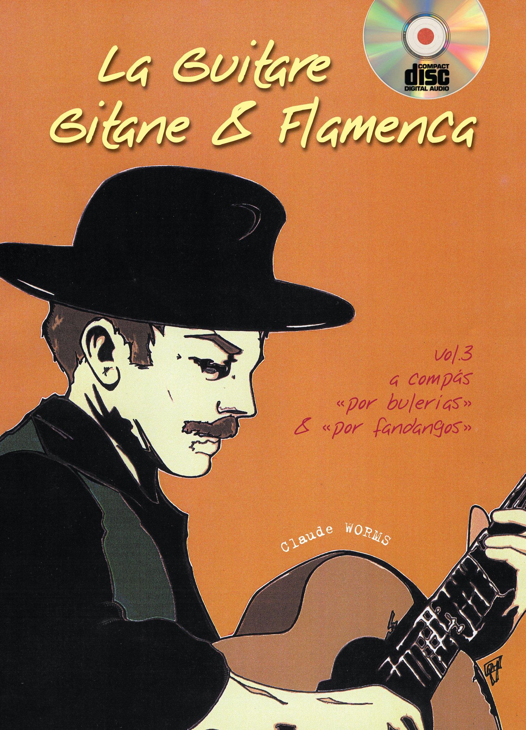 Volume 1 Learn to Play MUSIC BOOK /& CD Guitar Tab Guitare Gitane /& Flamenca La