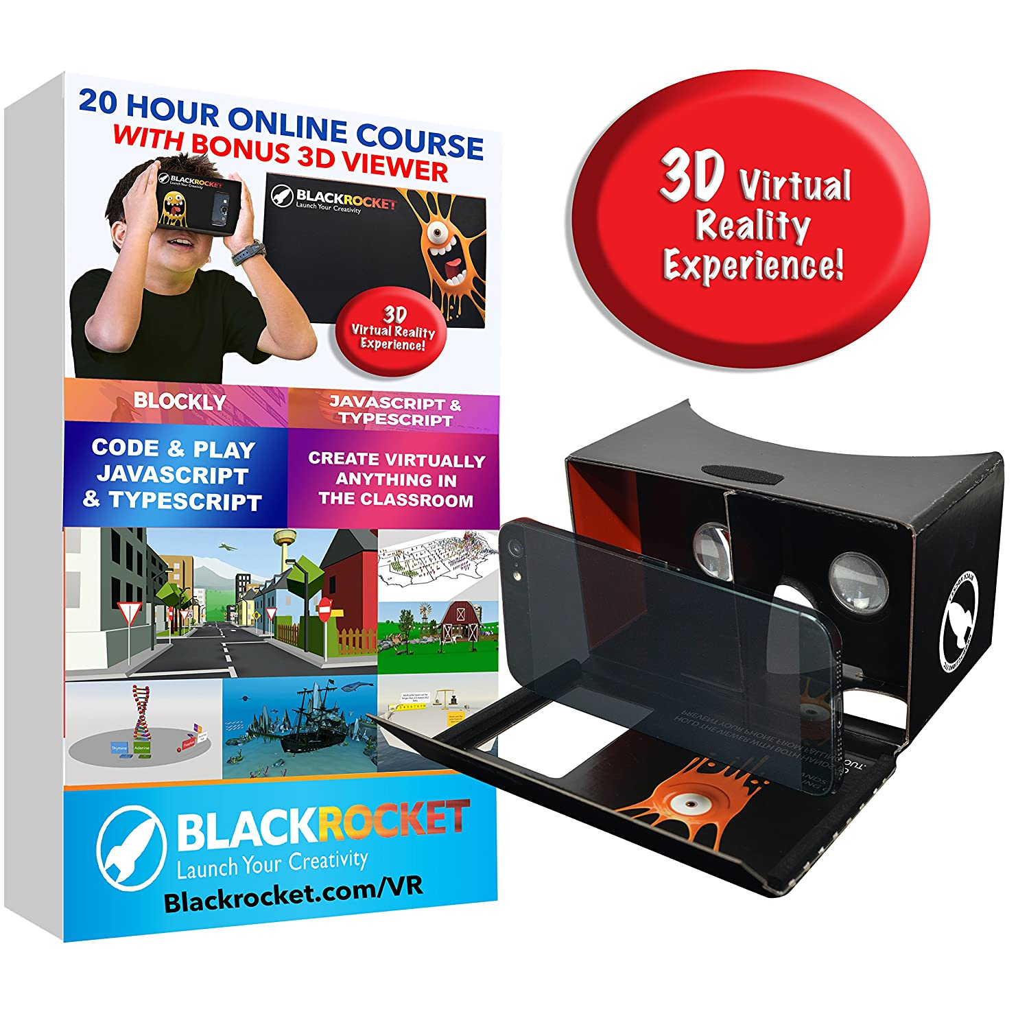 Make Your Own 3D Virtual Reality Games