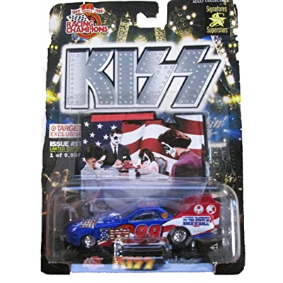 Racing Champions - KISS Limited Edition - Issue #1T - Hot Rockin Steel: Toys & Games