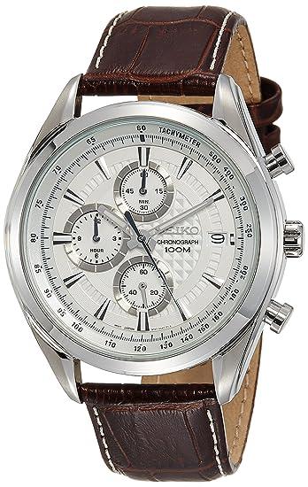 Seiko Quartz ssb181p1 Reloj de Pulsera Hombre