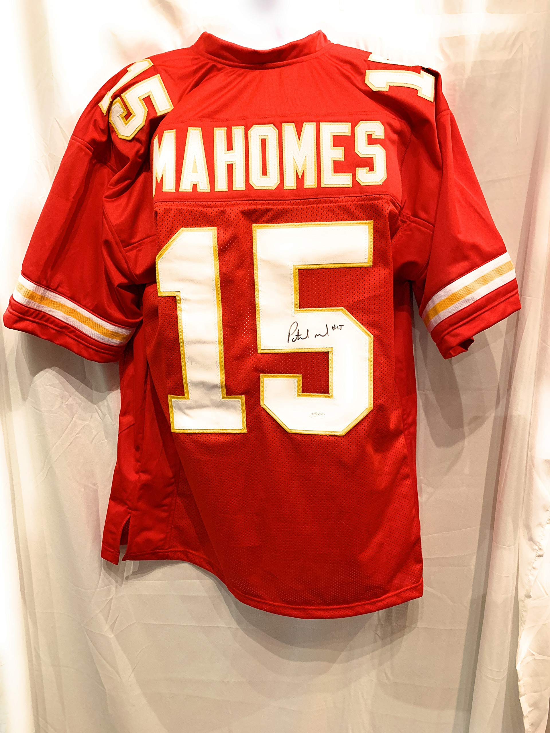 Patrick Mahomes Kansas City Chiefs Signed Autograph Red Custom Jersey Certified Authentic