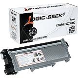 Logic-Seek Toner kompatibel für Brother TN-2320 TN-2310 TN2320 Toner Replacement für Brother MFC-L2700DW, HL-2300D, DCP-L2520DW - Black/Schwarz 2.600 Seiten