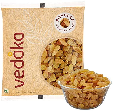 Amazon Brand - Vedaka Popular Raisins, 100g