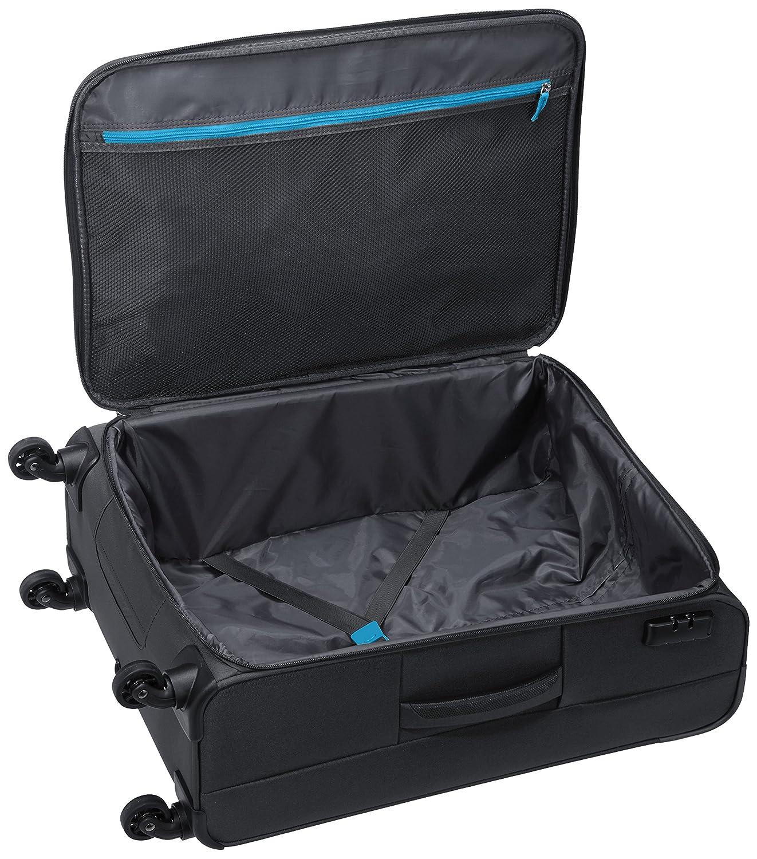 Amazon.com | American Tourister Funshine 4 Roues 66/24 Valise, 66 cm, 63, 5 L, Sparkling Graphite | Suitcases