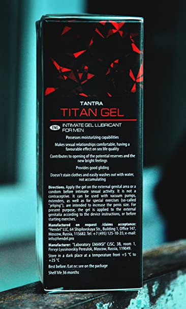 amazon com titan gel special gel for men sports outdoors