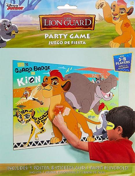 Amazon.com: Lion Guardia Fiesta de cumpleaños juego Lion ...