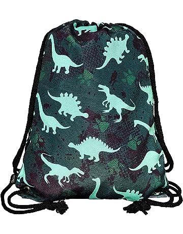 8d86f23518cbc HECKBO® boys children gym bag – dinosaur dino design - washing machine safe  - 12.6