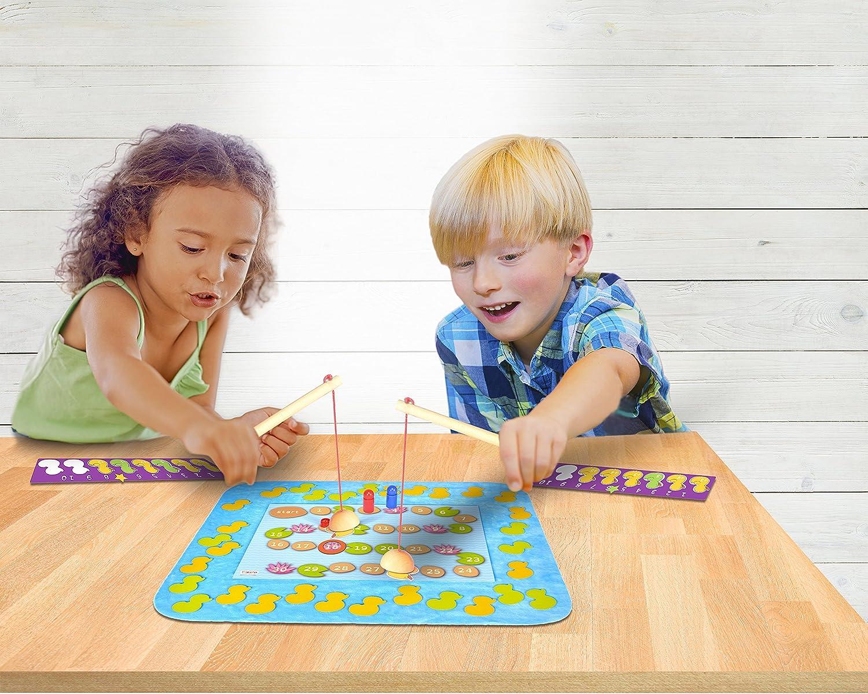 Fiesta Crafts- Fish N Count - Juego de pesca, Multicolor (T-2812) , color/modelo surtido: Amazon.es: Juguetes y juegos