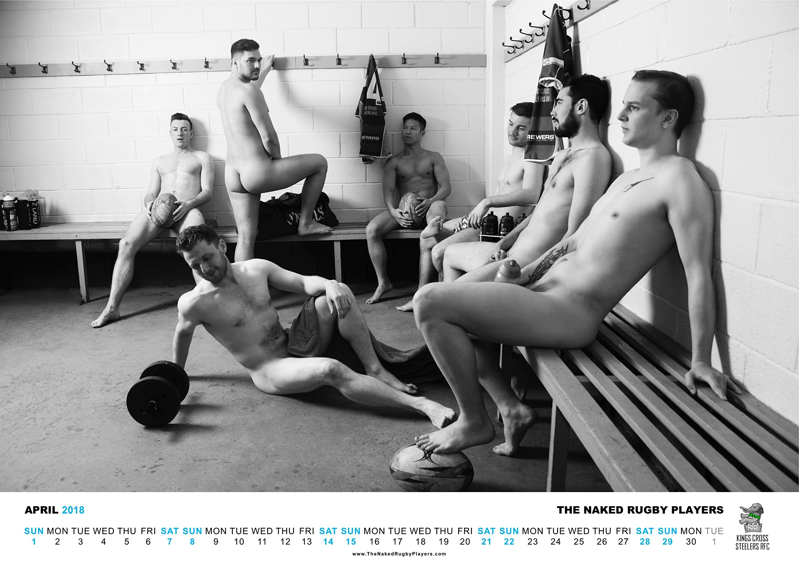 The Naked Rugby Players Calendar 2018: Amazon.co.uk: Diverse Retailing Ltd,  The Naked Rugby Players: 0742880612699: Books