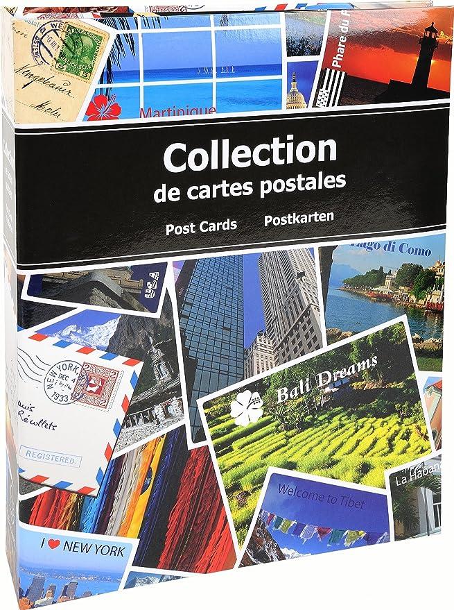 Exacompta 96115e – Álbum de Recortes 200 Tarjetas Postales: Amazon ...