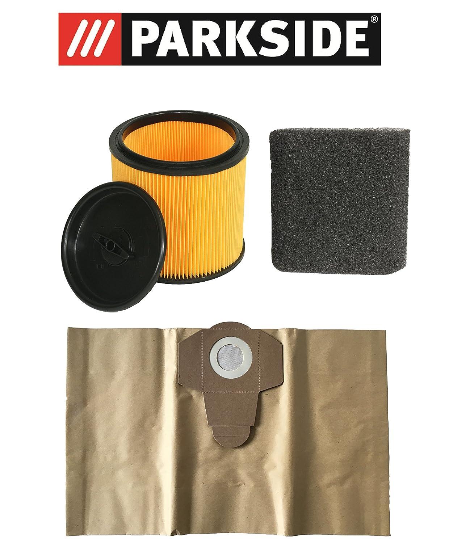 Juego de filtros Parkside filtro en húmedo, en seco y bolsas ...