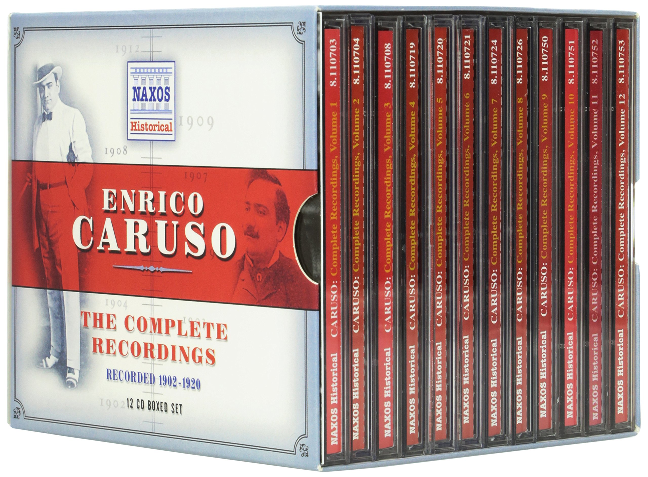 Enrico Caruso: The Complete Recordings by NAXOS HISTORICAL.