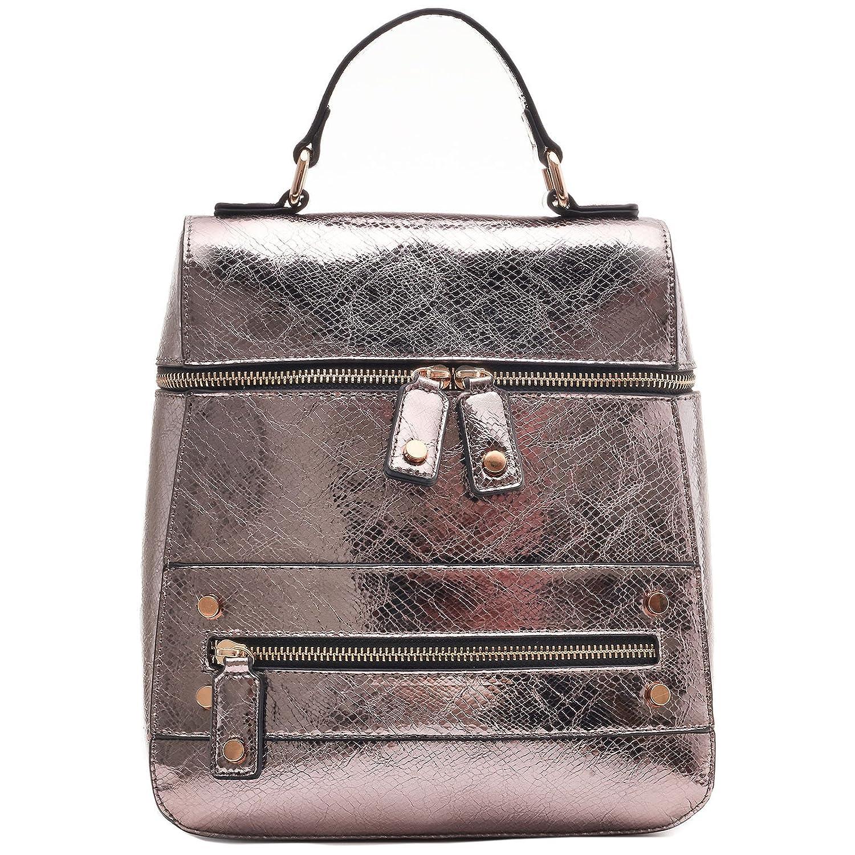 dfe4fd15076c Buy Dream Control Slim Sleek Dressy Vegan Leather Backpack Satchel ...