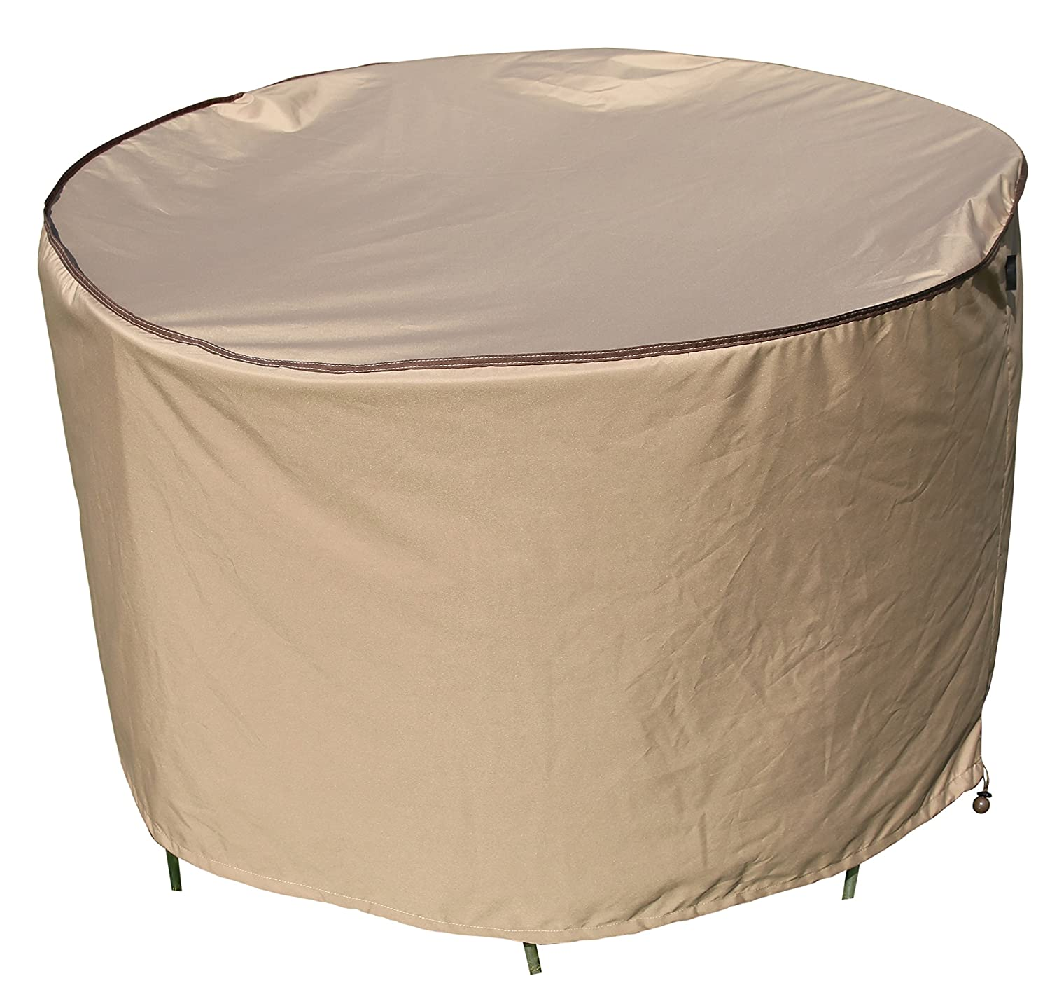 SORARA Round Table and Chair Set Cover Outdoor Porch Furniture Cover, Water Proof, All Weather Protection, 60 Dia.