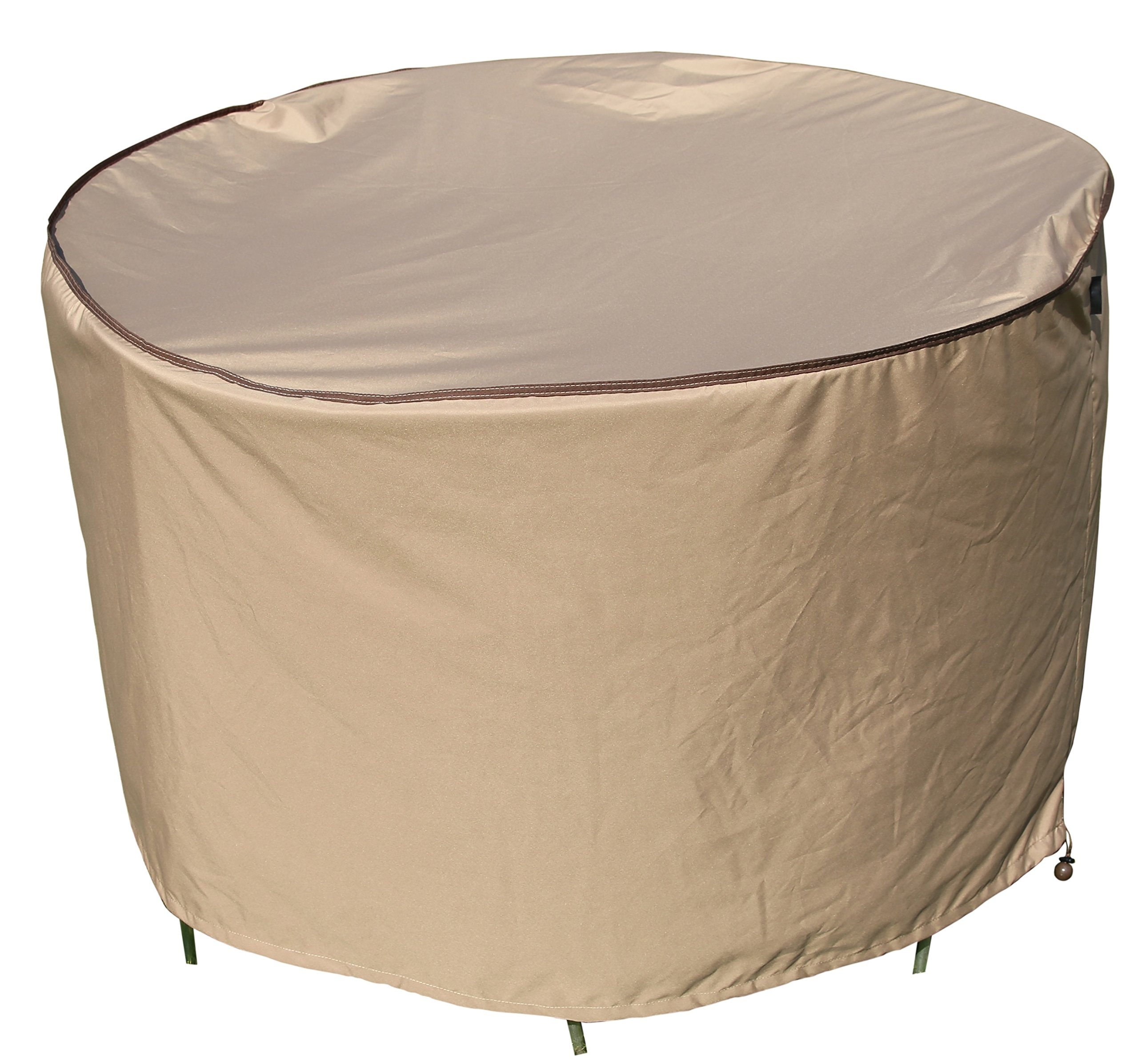 SORARA Round Table and Chair Set Cover Outdoor Porch Furniture Cover, Water Proof, All Weather Protection, 70'' Dia.