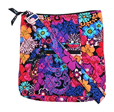 a6e59b7433 Vera Bradley Hipster (Floral Fiesta with black interior)  Handbags   Amazon.com
