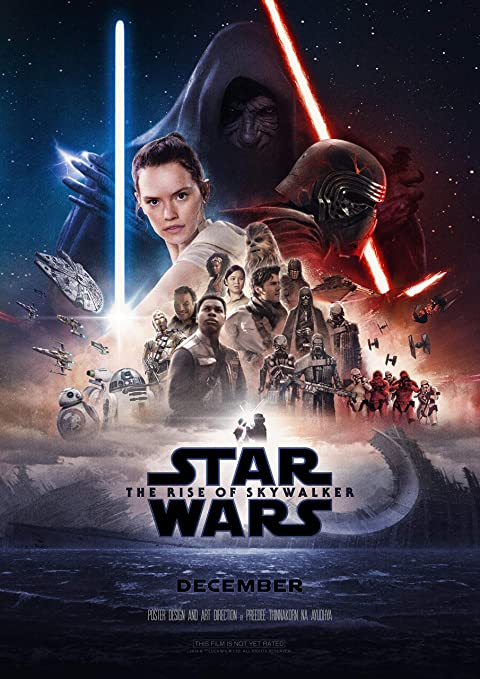 Image result for star wars rise of skywalker movie poster