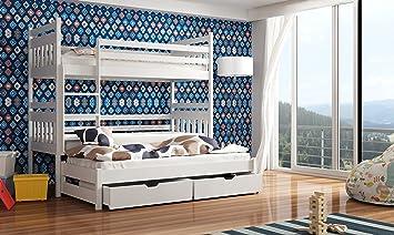 Etagenbett Für 3 Personen : Wohnideebilder hochbett etagenbett kinderbett severy für