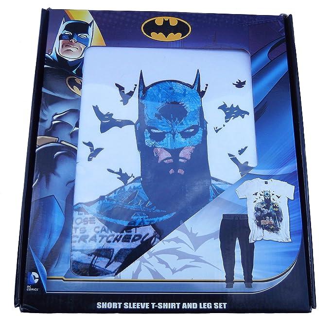 Para hombre pijama camiseta de manga corta y juego de pata Marvel Star Wars Batman Hombre