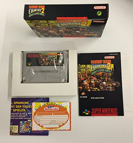 SNES - Donkey Kong Country 2: Diddys Kong Quest: Amazon.es ...
