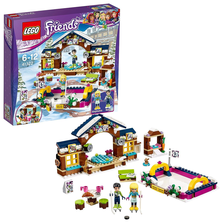 Lego La Patinoire Station Jeu Ski Friends 41322 Construction De l1Kc3TFJ